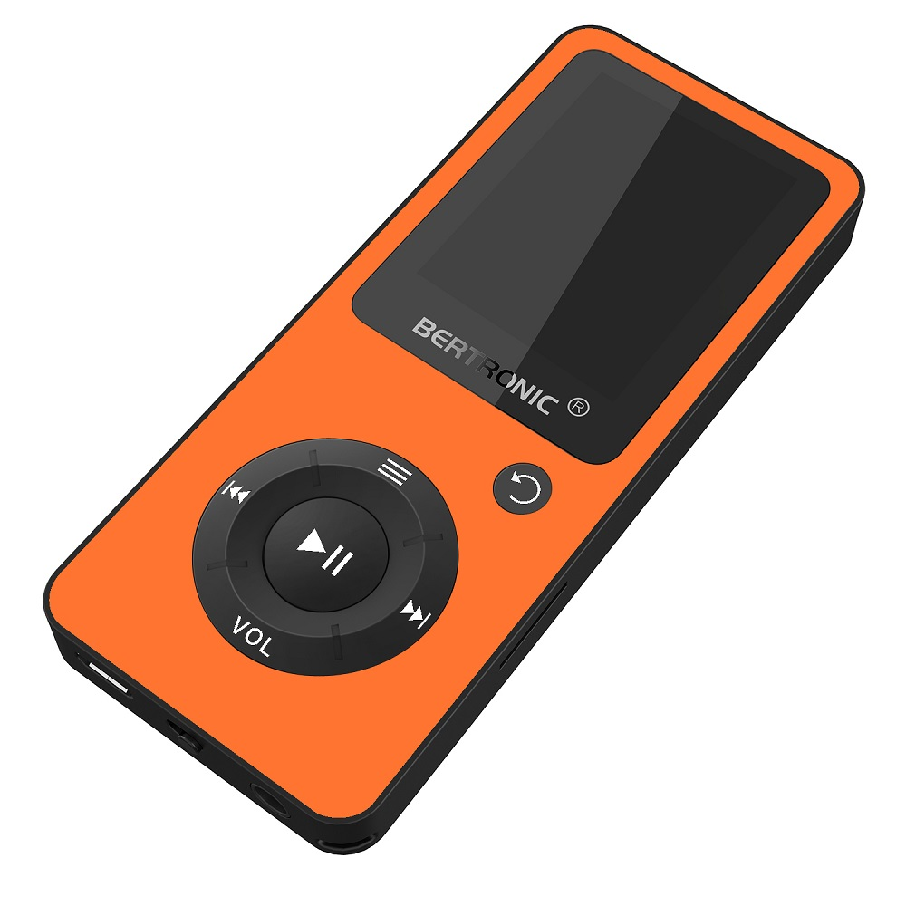 bertronic made in germany mp3 player orange 100h mit. Black Bedroom Furniture Sets. Home Design Ideas